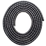 CSZD Spiral Cable Wrap,10ft – 1/4 inch Spiral Wire...