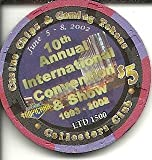$5 tropicana 10th annual convention preserving gaming las vegas casino chip