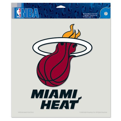 Miami Heat 8x8 Die Cut Full Color Decal Made in the USA