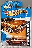 Hot Wheels Premium '67 Ford Mustang Coupe – Muscle Mania – Ford 6/10 – V5419 – Tarjeta larga 2012