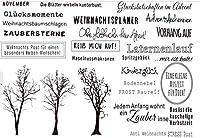 ドイツのクリアシリコンスタンプ/DIYスクラップブッキング用シール/アルバム装飾クリアスタンプシートA213