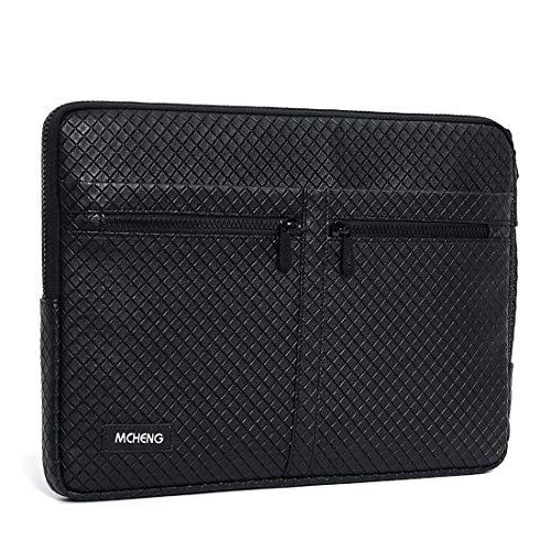 MCHENG Custodia Ultrabook da 14 a 14,1 pollici, resistente agli urti, compatibile con MacBook Pro 2016 – 2018 e 14 , colore: nero