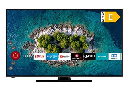 HITACHI U58K6100 Smart TV 58 Zoll (147 cm) I Fernseher (4K Ultra HD, HDR10, Dolby Vision HDR, Triple Tuner, Alexa, Bluetooth, HD+)