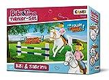 CRAZE BIBI & TINA Turnierset mit Reiterin Pferd Bibi und Sabrina inkl. Reitzubehör Spielfiguren zum...