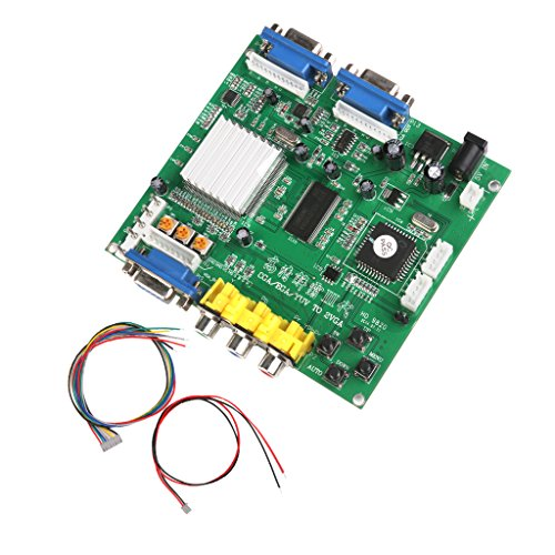Gazechimp GBS-8220 CGA - VGA Dual Output Arcade Spielplatte / Arcade Game HD Video Converter Board