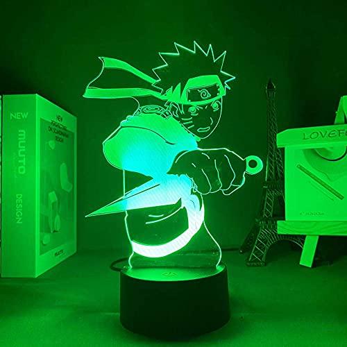 Lámpara 3D anime light antalu avatar kakashi sensor de movimiento luz envío gratis para iluminación de lámpara de mesa de dormitorio