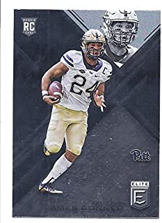 ab387fb36 JAMES CONNER 2017 Panini Elite Draft Picks  193 Rookie Card RC Pittsburgh  Panthers Steelers Football