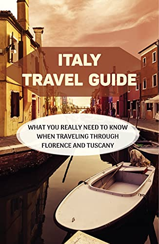 Italy Travel Guide: What You Really Need To Know When Traveling Through Florence And Tuscany: Florence Travel Restrictions (English Edition)