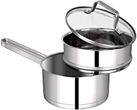 Special/Simple 304 Stainless Steel Milk Pot Household Instant Noodle Non-Stick Steamer Small Soup Pot Complementary Food I...