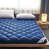 Colchones Futon Suelo de colchón, 10 cm de espesaje Tatami Mat Durmiendo, suave grueso de la almohadilla de colchón del estudiante japonés, tatami alfombrilla de dormir enrollable, colchón, touches de