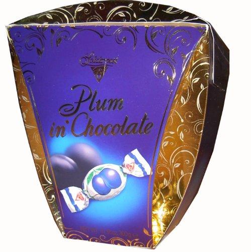 Schokoladen Pralinen Solidarnosc mit Pflaume Sliwka Naleczowska 190g
