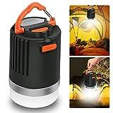 LED Campinglampe mit Powerbank