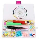 Oyunngs DIY Craft Knitting Needle Needle Needle Pin Sets, Productos de Accesorios de Costura con Cinta métrica marcada, para Prendas de Vestir, artesanías, Accesorios