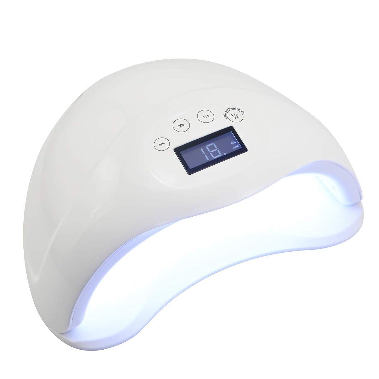 具体的に壁紙海里ネイルドライヤー 硬化ライト 48W UV/LEDライト 高速硬化 自動センサー(ホワイト)