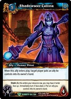 World of Warcraft TCG - Shadowseer Calista (124) - War of the Elements