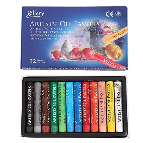 12/25/50 colores Varillas de pintura al óleo para niños – Lápices de...