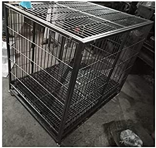 Dog Crate Size Length 4 feet or 48 inch - Strong Heavy Good Durable Cage for Long Life for All Large Breed