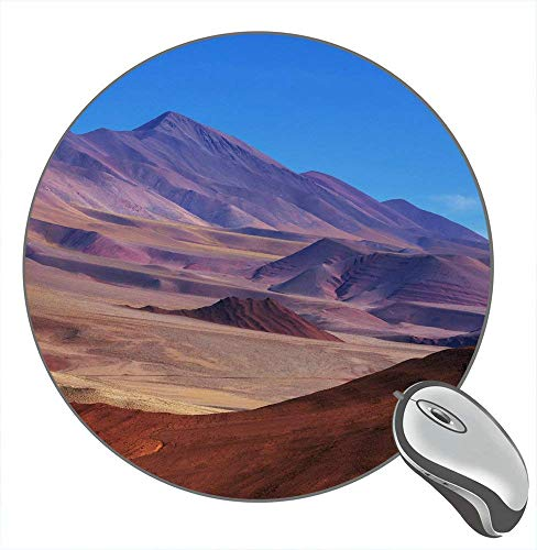 Desierto Norte de Argentina Paisaje 11495 Fondo Escritorio Goma Antideslizante Juego Redondo Alfombrilla de ratón Alfombrilla de ratón Alfombrilla de ratón