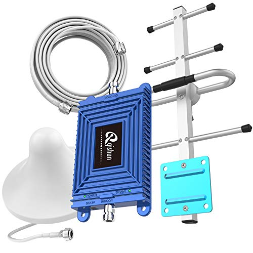 Home 4G LTE Cell Phone Signal Booster for Verizon 700MHz Band 13 Signal Repeater Amplifier High Gain Verizon 4G Phone Signal Booster Mobile Phone Signal Repeater Antenna Kits