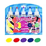 Thrivinger Tie Dye Kits, Tie-Dye Kit, 58pcs / Set Algodón Ropa De Lino Tintes DIY Fashion Dye Kit, One Step Tie-Dye Kit DIY Tie-Dye Set Kit De Un Solo Paso Tie-Dye