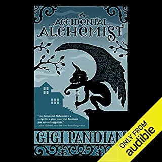 The Accidental Alchemist audiobook cover art