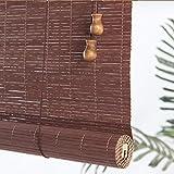 ZAQI Estores Enrollables Sombrilla Grande, persiana Enrollable de privacidad para Ventana Exterior de bambú, salón Galería Tea House, 100/120/140/150 / 160cm de Ancho (Size : 140×310cm)