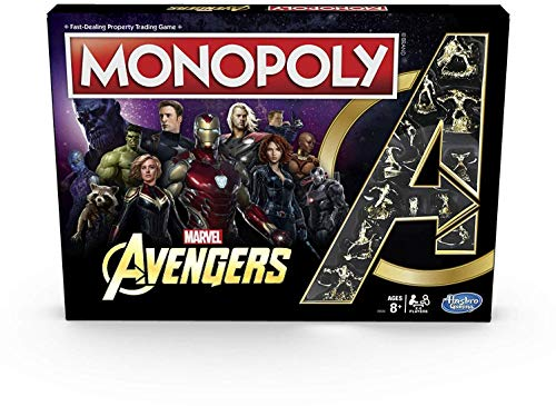 Hasbro Gaming Monopoly Avengers
