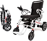 Rubicon Premium Lightweight Electric Wheelchairs. All Terrain,Dual Power Motors, Foldable, Travel Power Wheelchair for Adults. Silla de Ruedas Electrica. (Premium - Heavy Duty)