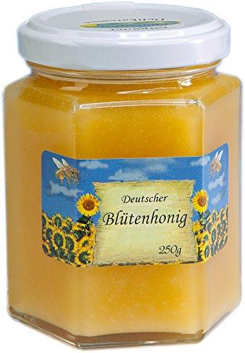 Deutscher Blüten Honig cremig - Blütenhonig - Herkunft garantiert aus Deutschland in bester Qualität
