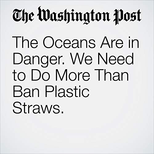 The Oceans Are in Danger. We Need to Do More Than Ban Plastic Straws. copertina