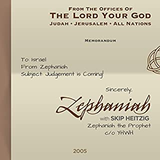36 Zephaniah - 2005 cover art
