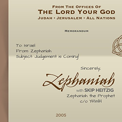 36 Zephaniah - 2005 audiobook cover art