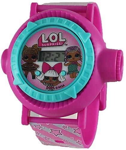 L.O.L. Surprise! Girl's Pink Digital Projection Watch LOL4140