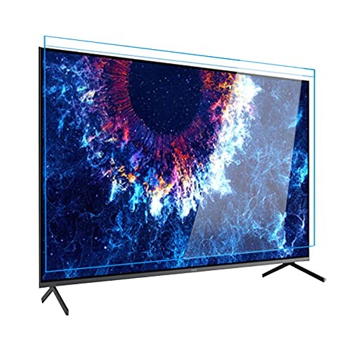 WUK Protector de Pantalla, Anti-Blue Light TV Protector de Pantalla LCD Anti-presión para 32 a 75 Pulgadas Filtro de protección Ocular antideslumbrante Cubierta de Pantalla Colgante