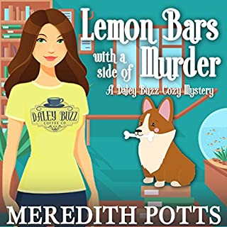 Lemon Bars with a Side of Murder  audiobook cover art
