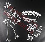 Mordecai and Rigby Oooohhh Yeah Set of 2 Regular Show...