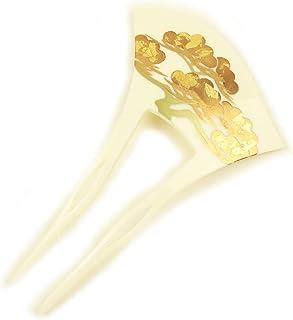 [楽市きもの館] バチ型簪 かんざし 松