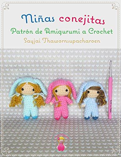 Niñas conejitas, Patrón de Amigurumi a Crochet