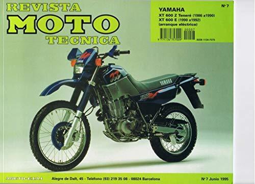 MANUAL REVISTA MOTO TECNICA YAMAHA XT600 Z Y E 1986-90 y 1990-92+FUNDA MOTO GRATIS DE 205 CM