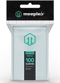 Sleeves MeepleBR - MINI EURO (45x68mm)