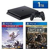 PlayStation 4 +  Horizon Zero Dawn Complete Edition + Days Gone セット (ジェット・ブラック) (HDD容量:1TB CUH-2200BB01)