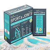Sport & Joints Electrolitos y sales minerales del Mar Muerto   Citrato de Magnesio 150mg  Citrato de potasio 150mg   Citrato de calcio 120mg   Citrato de sodio 575mg  Citrato de zinc 10mg - 14 sobres