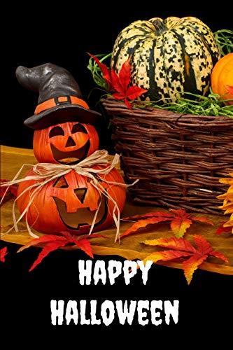 Happy Halloween: Notizbuch - Notebook - Helloween Party - Geschenk für Halloween - guest book - gift - present