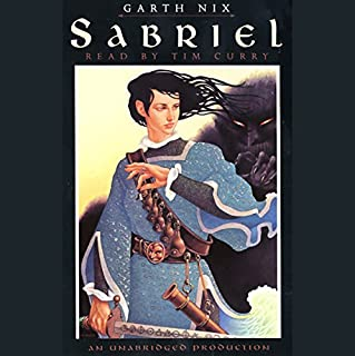 Sabriel                   By:                                                                                                                                 Garth Nix                               Narrated by:                                                                                                                                 Tim Curry                      Length: 10 hrs and 43 mins     5,049 ratings     Overall 4.6