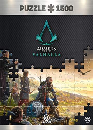 Assassin's Creed Valhalla Vista of England - Puzzle 1500 éléments 85cm x 58cm | Poster et Sac Compris | Jeu vidéo | Puzzle pour Adultes et Adolescents