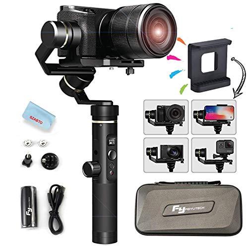 feiyutech G6Plus 3-Axis Splashproof Handheld Gimbal pour caméra...