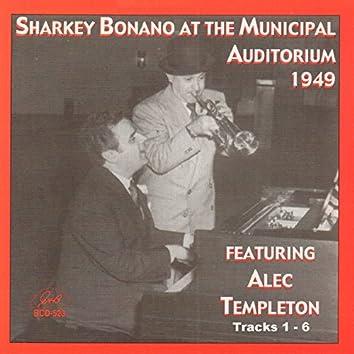 Sharkey Bonano at the Municipal Auditorium 1949
