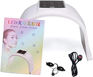 Colorful LED PDT Light Facial Skin Care Beauty Machine Electric Phototherapy Skin Rejuvenation Anti-Wrinkle Instrument