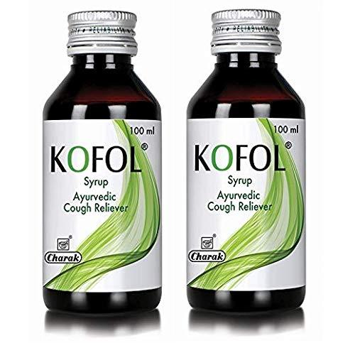 Charak Pharma Kofol Syrup - 100 ml (Pack of 2)