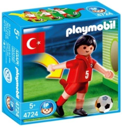 Playmobil 4724 Futbolista de Turquía: Amazon.es: Juguetes y juegos